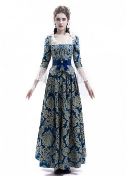 Victorian Civil War Queen Ball Gown Dress D3016